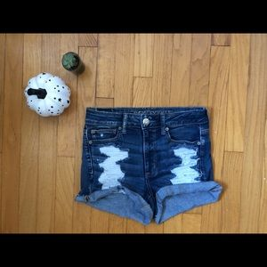 American Eagle High Rise Short